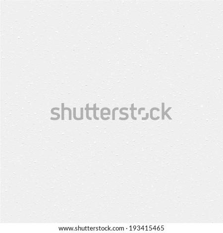 Vector High Resolution Blank White Paper - stock vector