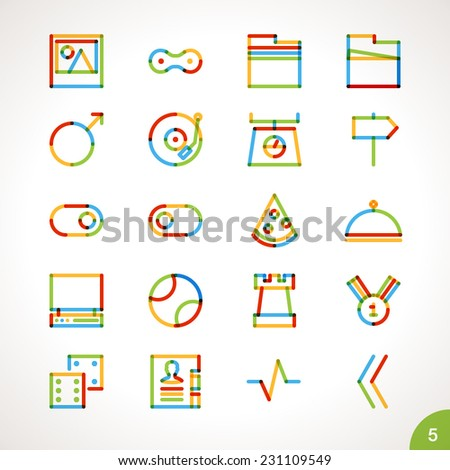 Fast Icon Vector Vector Highlighter Line Icons