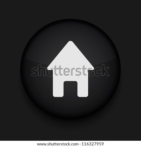 Vector house icon. Eps10. Easy to edit - stock vector