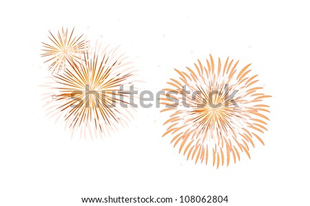 vector icon fireworks