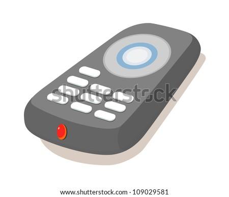 vector icon remote control - stock vector