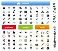 vector Icons for Web Applications - stock vector
