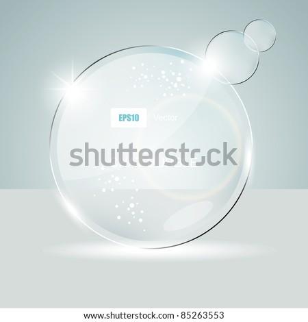 Vector Idea Bulbs. Chat Bubbles - stock vector
