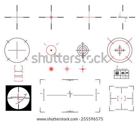 Vector illustration. A diverse set of sights. - stock vector