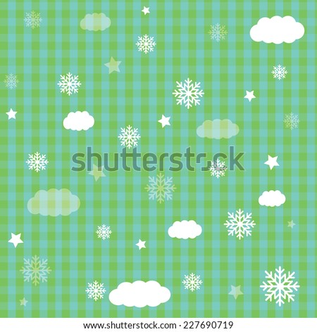 Vector illustration abstract Christmas and baby Background - eps10