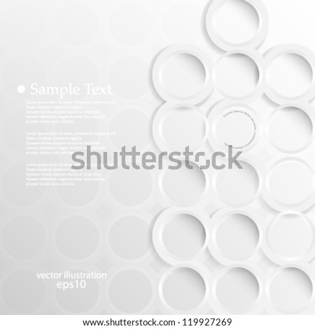 Vector illustration abstract geometric background design - eps10 - stock vector