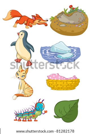 Animal Habitat Stock Vectors, Images & Vector Art | Shutterstock