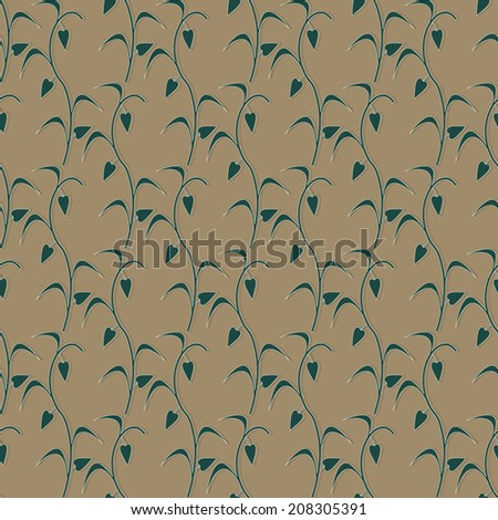 vector illustration background of abstract twigs