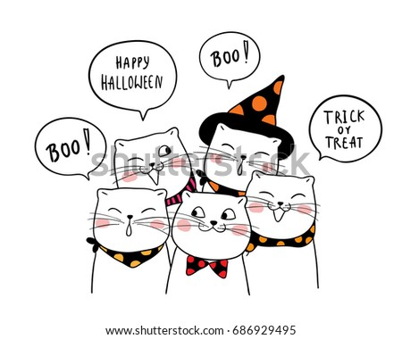 Halloween Drawing Stock Images Royalty Free Images