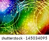 Vector illustration  colored abstract background - stock vector