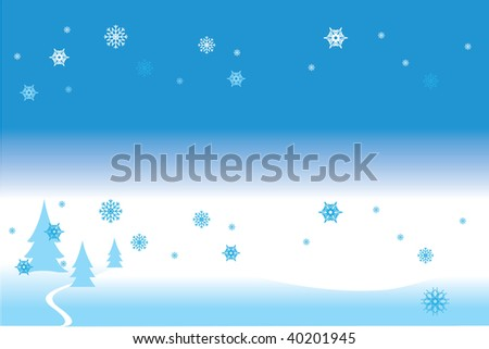 Vector illustration contains the image of Christmas-tree