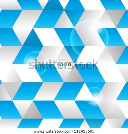 Vector illustration 3D background design - stock vector