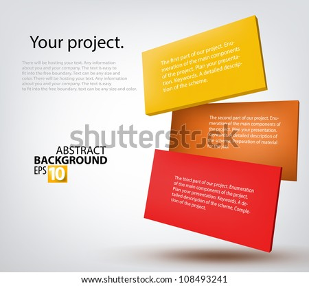 Vector illustration 3d tablets on gray - stock vector