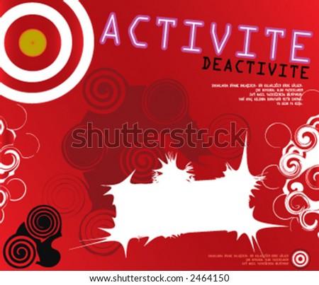 vector, illustration, design - stock vector