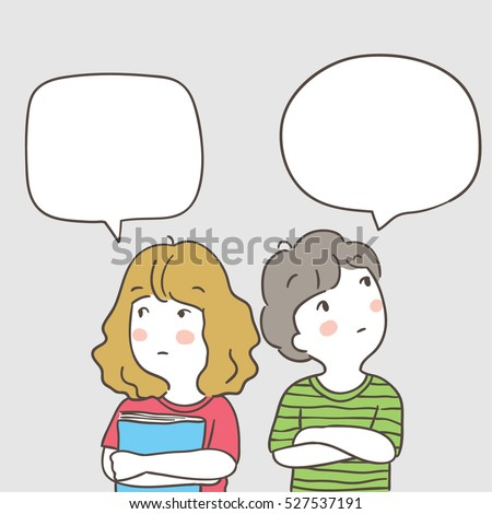 Speech Bubble Templates Man Illustration Stock Vector ...