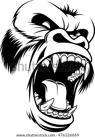 Angry Gorilla Stock Images, Royalty-Free Images & Vectors ... - photo#15