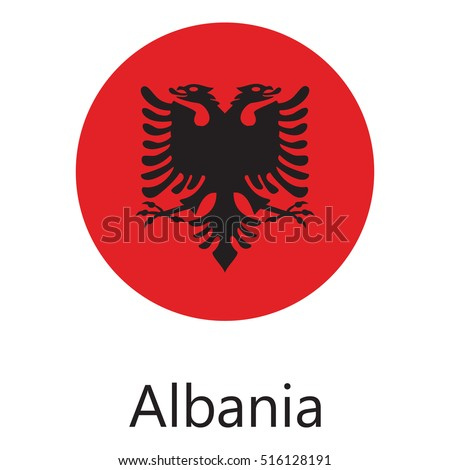Albania Flag Stock Images RoyaltyFree Images Vectors - Albania flag