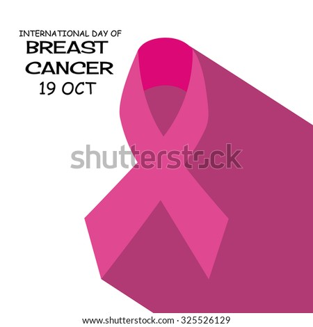 Vector illustration for Breast Cancer Day Background.