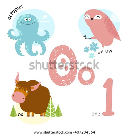 the letter n vector illustration teaching children alphabet 25177