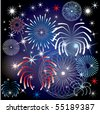 Vector Illustration for the 4th of July Independence Day Background. - stock vector
