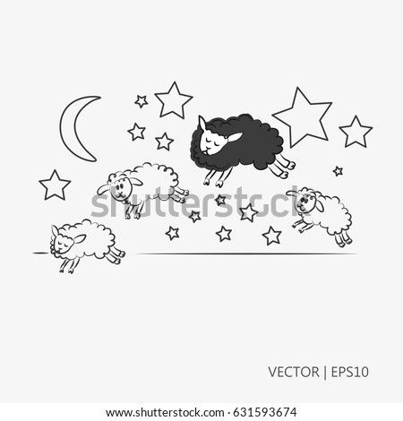 sleeping sheep coloring pages - photo#39