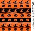 Vector illustration Halloween background - stock vector