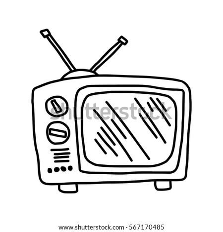 Vector Illustration Hand Drawn Sketch Retro 567173725
