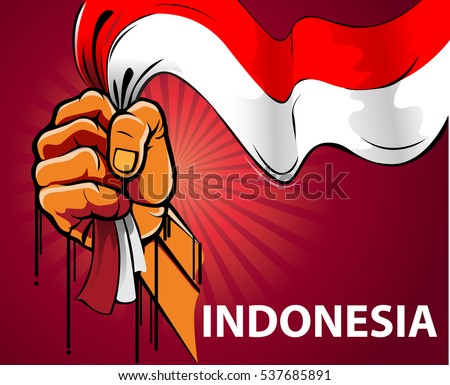 Indonesian Flag Stock Images, RoyaltyFree Images  Vectors  Shutterstock