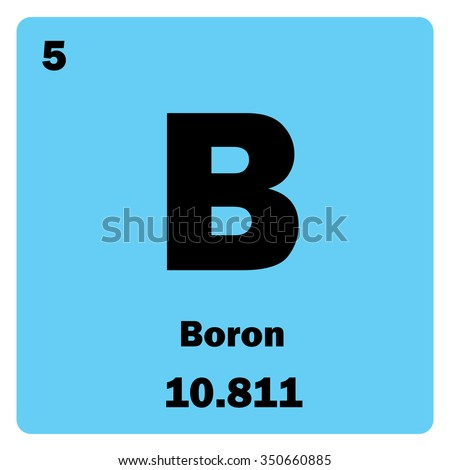 boron chemical element mendeleevs periodic table stock, Skeleton