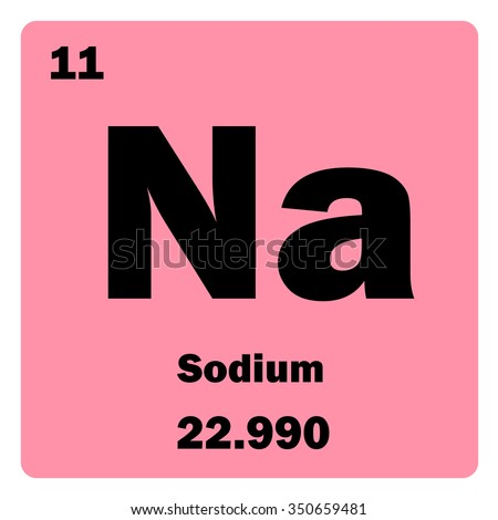 periodic table and sodium In the periodic table, as in politics, the unstable elements tend to hang out at the  far left and the far right sodium is a loose-electron element.