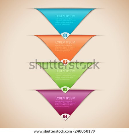 Vector illustration infographics - stock vector