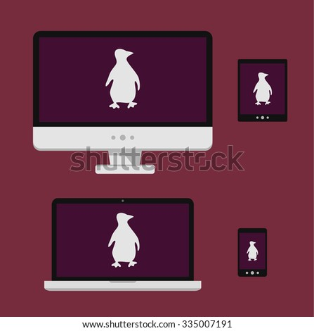 Linux Stock Images Royalty Free Images Vectors