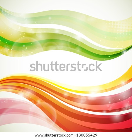 Vector Illustration of a Colorful Abstract Background - stock vector