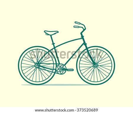 Cruiser Bicycle Stock Images RoyaltyFree Images Amp Vectors  Shutterstock