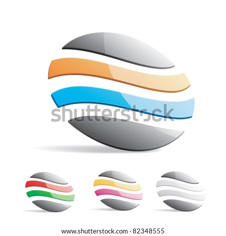 Vector illustration of a logo on a white background