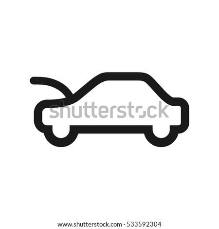 sign on car