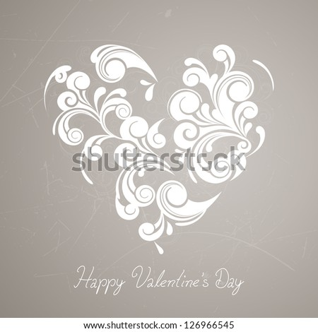 Vector Illustration of a Valentine's Day Background