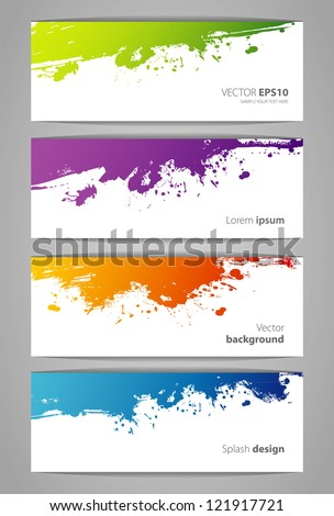 Vector illustration of abstract - stock vector
