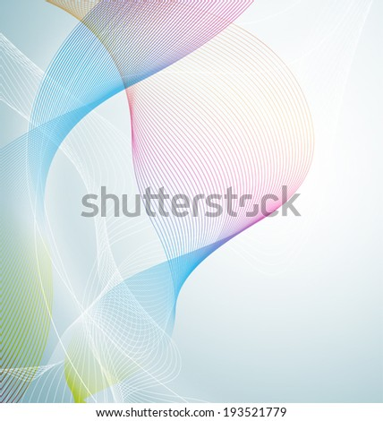Vector illustration of  abstract  background - stock vector