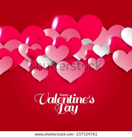 Happy Valentines Day Stock Vector 342195266 - Shutterstock