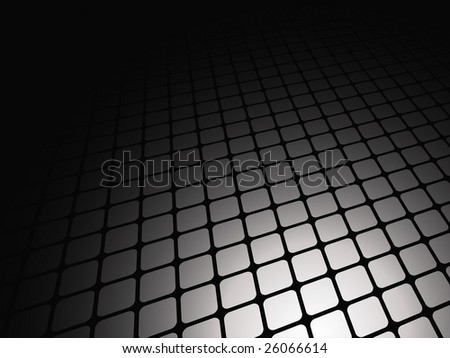 Vector illustration of abstract light on the floor
