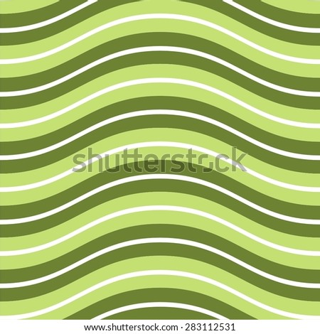 Vector illustration of abstract seamless abstract pattern with stripes in different colors - stock vector