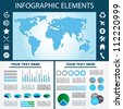 Vector illustration of an infograph. - stock photo