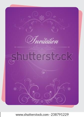 Vector illustration invitation multiple usage possibilities stock vector illustration of an invitation with multiple usage possibilities stopboris Gallery