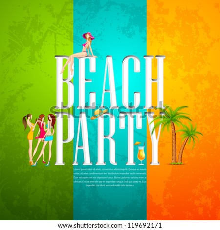 Beach Party Stock Photos, Royalty-Free Images & Vectors - Shutterstock