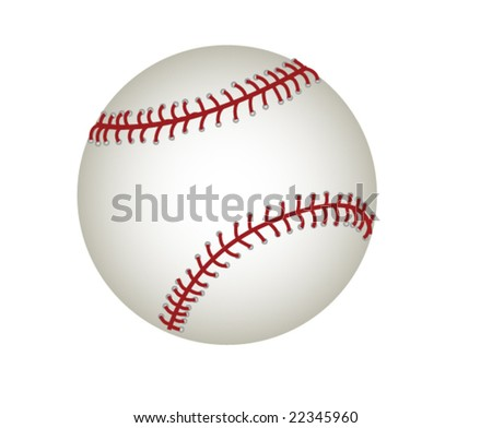Vector illustration of baseball