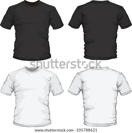 Kid front and back stock images royalty free images for White t shirt template front and back
