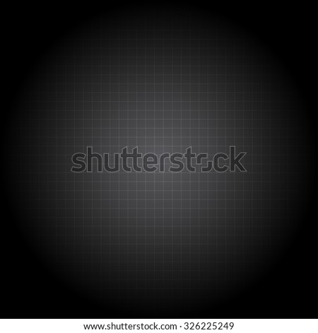 Vector illustration of black background - stock vector
