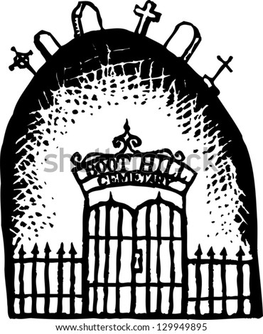 cemetery gate stock images  royalty free images   vectors cemetery clip art jpg cemetery clean up clipart