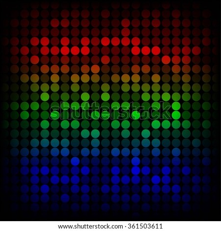 Vector illustration of Bright multicolored background.